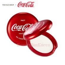 THE FACE SHOP Oil Clear Blotting Pact 9g [Coca Cola Edition]
